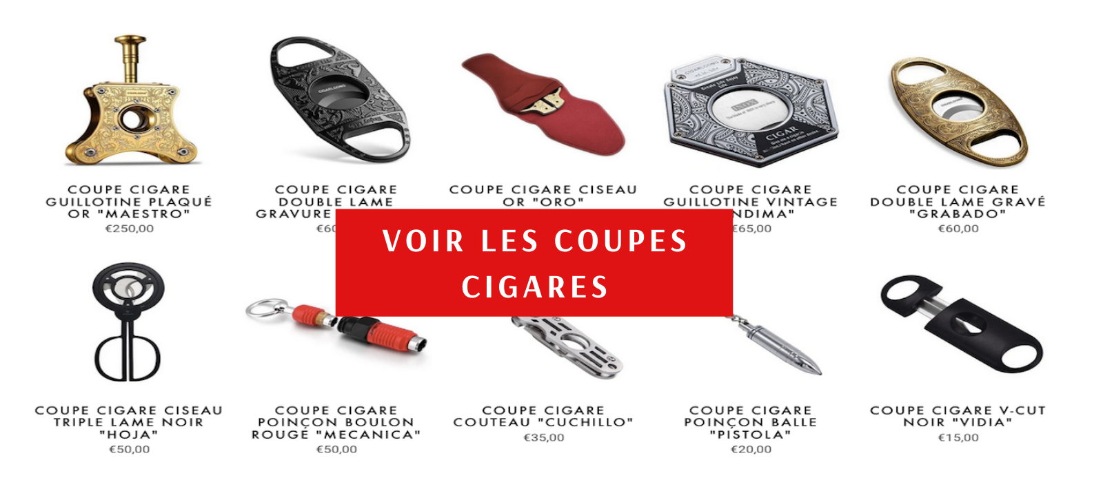 Accessoires cigare