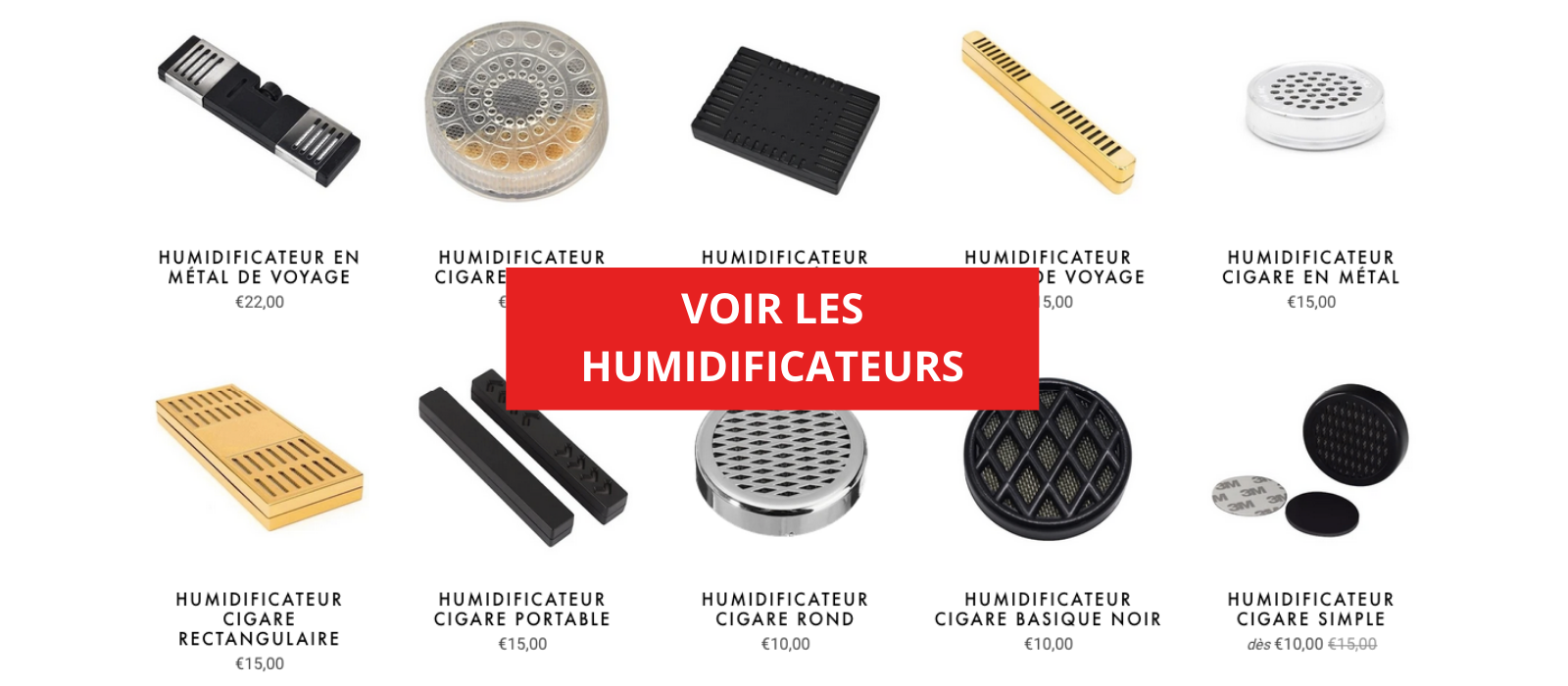 humidificateur cigare