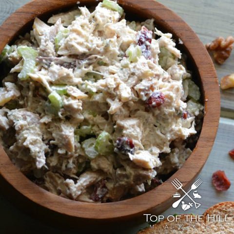 Cranberry Walnut Chicken Salad (Homemade)