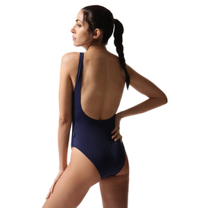 Olympic Style Swimsuit Navy - Onepieceswimsuit_Woman - KAMPOS