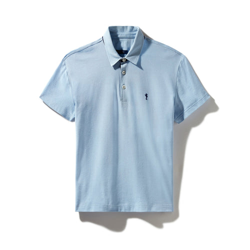 Polo Shirt Light Blue - Polo_Man - KAMPOS