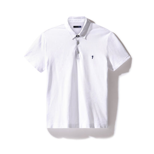 Polo Shirt White - Polo_Man - KAMPOS