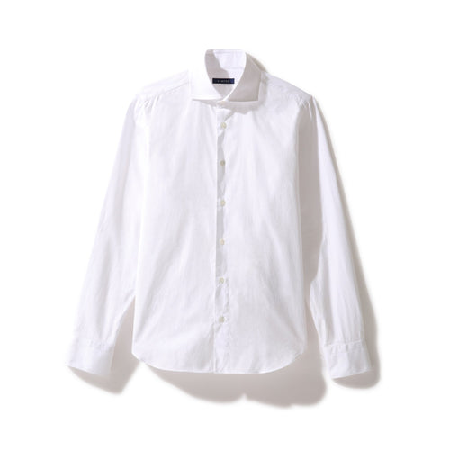 Shirt White (and Blue) - Shirt_Man - KAMPOS