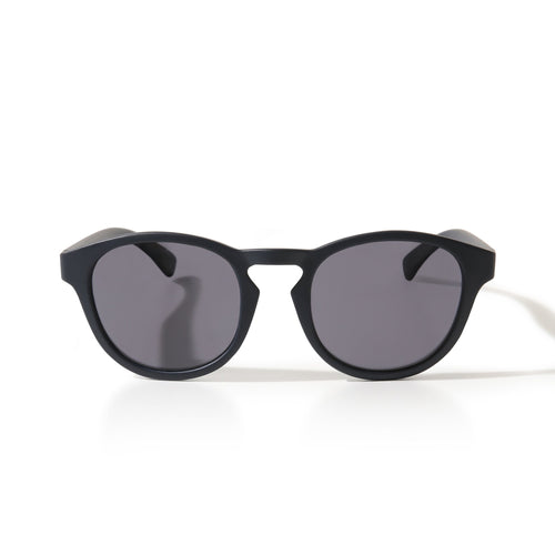 Sunglasses Round Black - Sunglasses_Man - KAMPOS