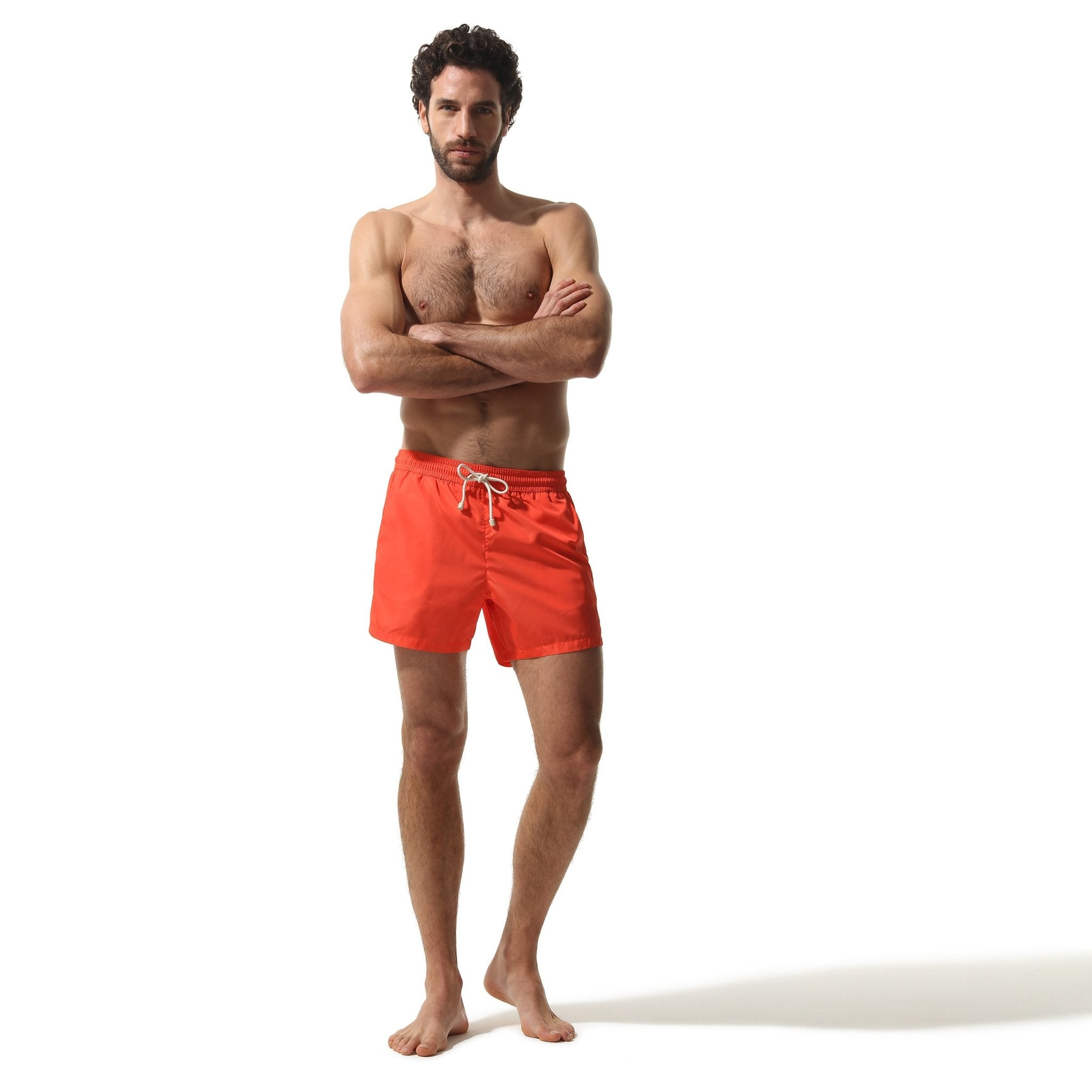 Swim Shorts Coral - Swimshorts_Man - KAMPOS