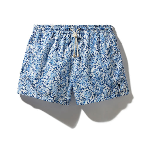 Swim Shorts Coral Forest (Blue) - Swimshorts_Man - KAMPOS