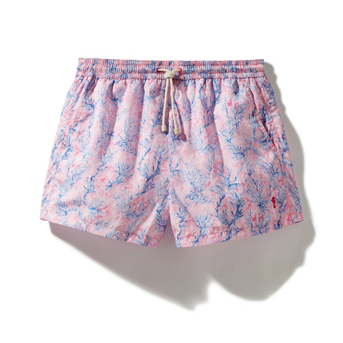Swim Shorts Coral Forest (Pink) - Swimshorts_Man - KAMPOS