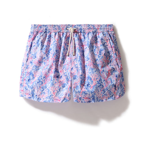 Swim Shorts Coral Forest (Red) - Swimshorts_Man - KAMPOS