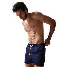 Laden Sie das Bild in den Galerie-Viewer, Swim Shorts Navy (and Pink) - Swimshorts_Man - KAMPOS