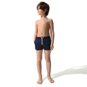 Swim Shorts Navy (and Pink) (Kids) - Swimshorts_Kid - KAMPOS