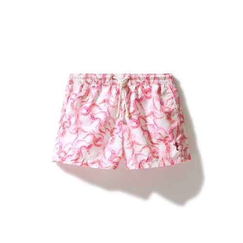 Swim Shorts Octopus (Pink) (Kids) - Swimshorts_Kid - KAMPOS