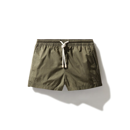 Swim Shorts Olive Green (Kids) - Swimshorts_Kid - KAMPOS