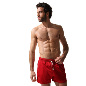 Swim Shorts Red Coral - Swimshorts_Man - KAMPOS