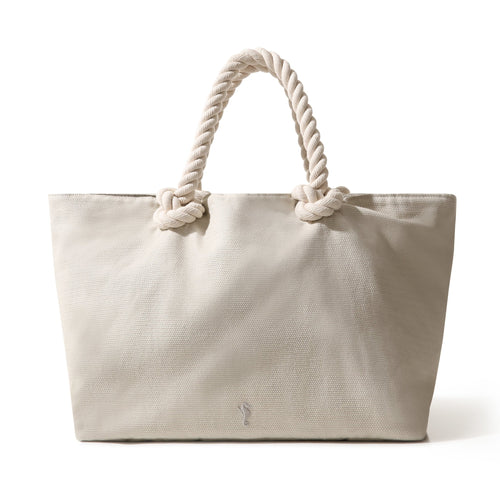 Tote Bag Sand White Large - Bag_Unisex - KAMPOS