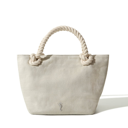 Tote Bag Sand White Small - Bag_Unisex - KAMPOS