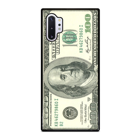 $100 DOLLAR BILL MONEY Samsung Galaxy Note 10 Plus Case Cover