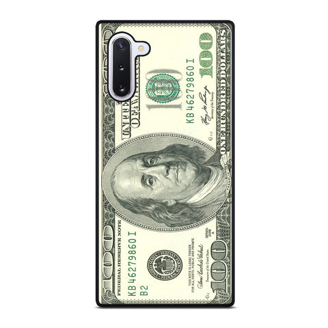 $100 DOLLAR BILL MONEY Samsung Galaxy Note 10 Case Cover