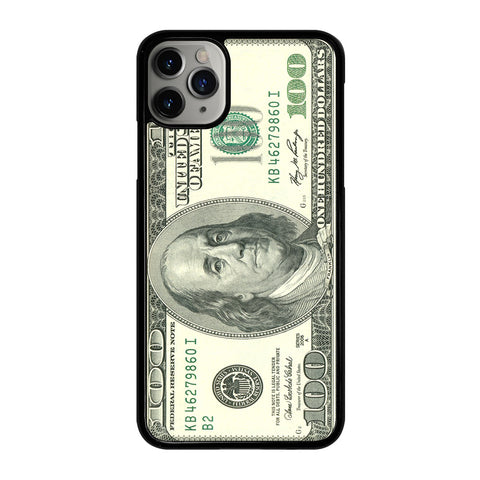 $100 DOLLAR BILL MONEY iPhone 11 Pro Max Case Cover
