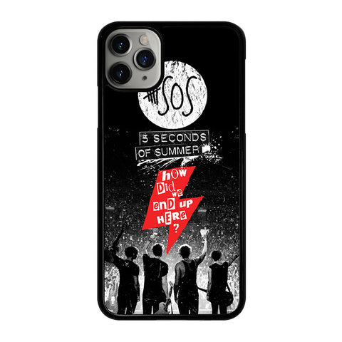 5 SECONDS OF SUMMER 3 iPhone 11 Pro Max Case Cover