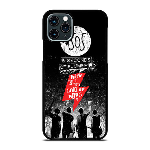 5 SECONDS OF SUMMER 3 iPhone 11 Pro Case Cover