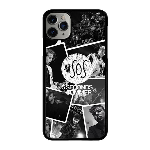 5 SECONDS OF SUMMER COLLAGE iPhone 11 Pro Max Case Cover