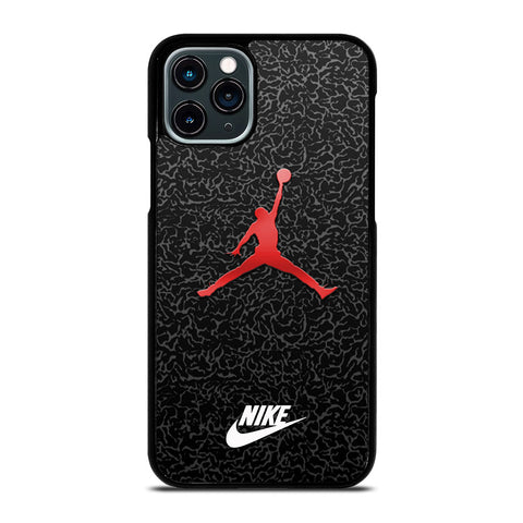 AIR JORDAN RED iPhone 11 Pro Case Cover