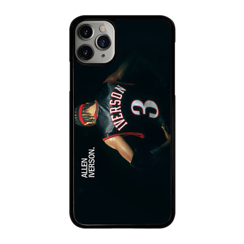 ALLEN IVERSON 3 iPhone 11 Pro Max Case Cover