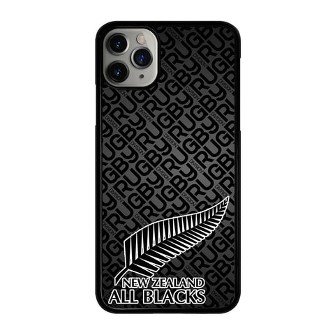 ALL BLACKS NEW ZEALAND RUGBY 3 iPhone 11 Pro Max Case Cover