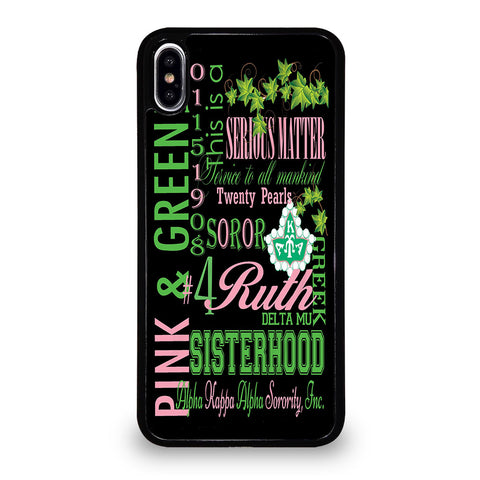 ALPHA KAPPA ALPHA 1 iPhone XS Max Case Cover