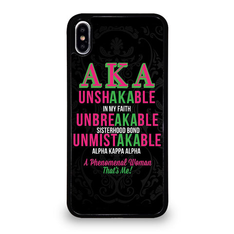 ALPHA KAPPA ALPHA 2 iPhone XS Max Case Cover