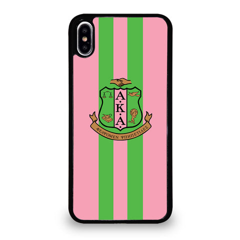 ALPHA KAPPA ALPHA 3 iPhone XS Max Case Cover