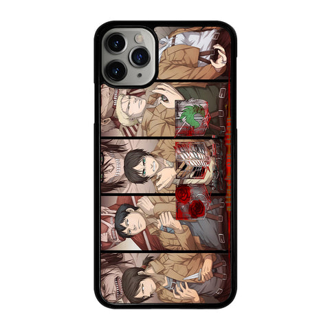ATTACK ON TITAN 2 iPhone 11 Pro Max Case Cover