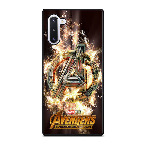 AVENGERS INFINITY WAR LOGO Samsung Galaxy Note 10 Case Cover