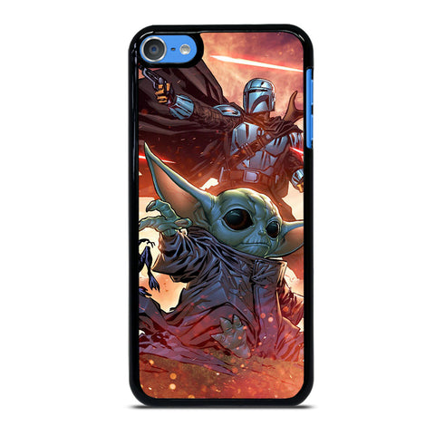 BABY YODA AND THE MANDALORIAN 2 iPod Touch 7 Case Cover