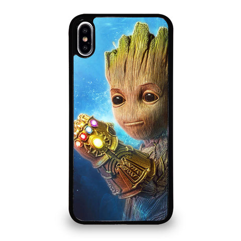 BABY GROOT GAUNTLET iPhone XS Max Case Cover
