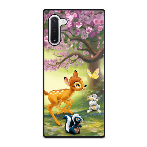 BAMBI DEER FRIENDS Samsung Galaxy Note 10 Case Cover