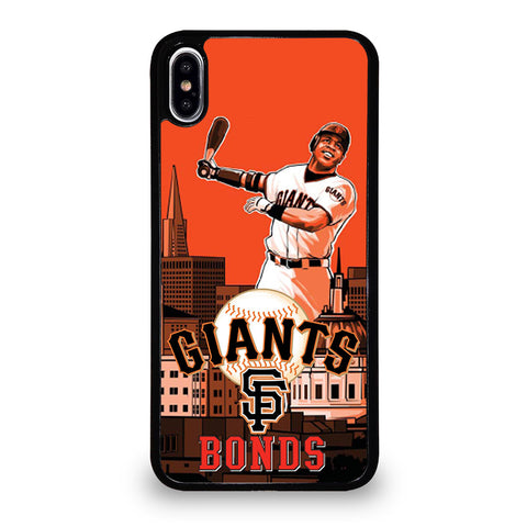 BARRY BONDS GIANTS iPhone XS Max Case Cover