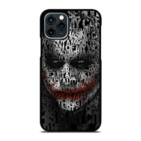 BATMAN JOKER COLLAGE iPhone 11 Pro Case Cover