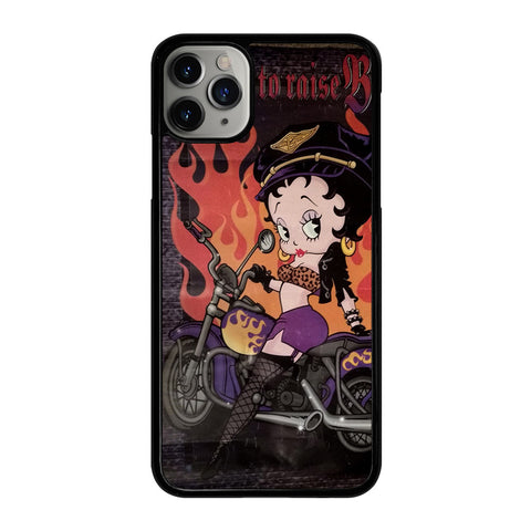 BETTY BOOP RIDE iPhone 11 Pro Max Case Cover