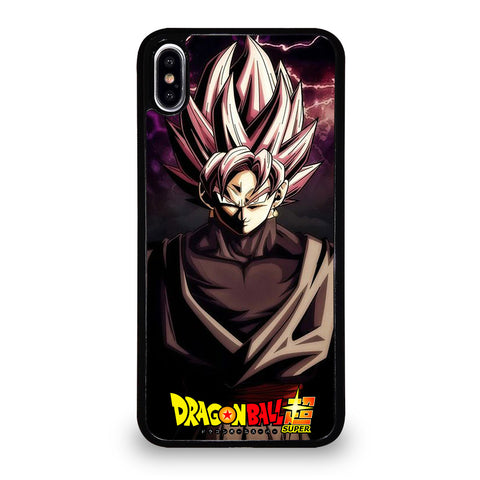BLACK GOKU DRAGON BALL 1 iPhone XS Max Case Cover