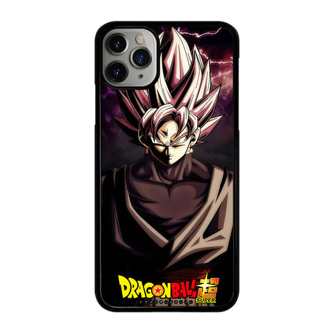 BLACK GOKU DRAGON BALL 1 iPhone 11 Pro Max Case Cover