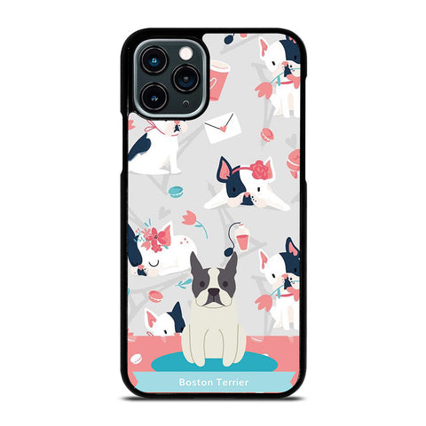 BOSTON TERRIER DOG 1 iPhone 11 Pro Case Cover
