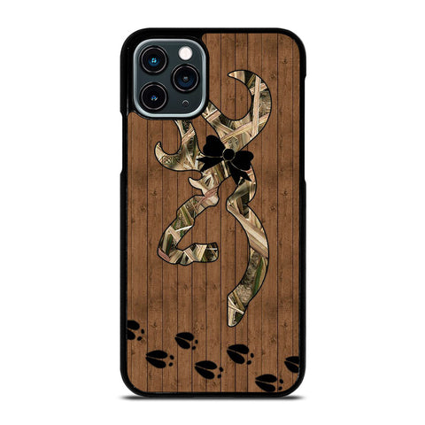 BROWNING DEER FOOTPRINT iPhone 11 Pro Case Cover
