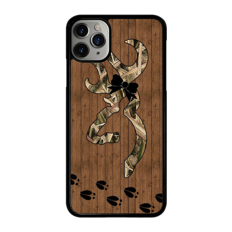 BROWNING DEER FOOTPRINT iPhone 11 Pro Max Case Cover