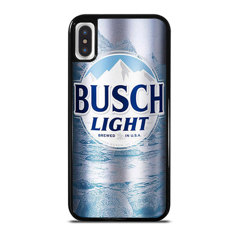BUSCH LIGHT BOTTLE iPhone X / XS Case Cover