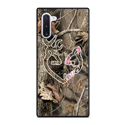 CAMO LOVE BROWNING Samsung Galaxy Note 10 Case Cover