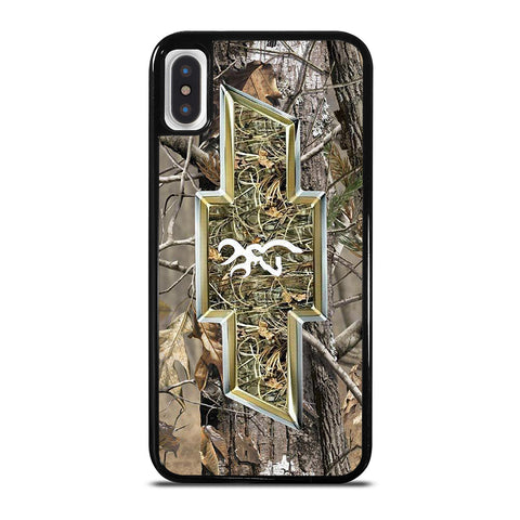 CAMO CHEVY BROWNING iPhone X / XS Case Cover
