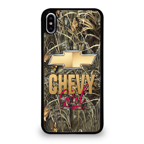 CAMO CHEVY GIRL iPhone XS Max Case Cover