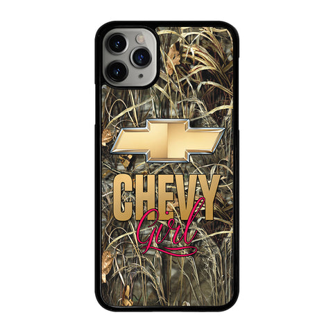CAMO CHEVY GIRL iPhone 11 Pro Max Case Cover