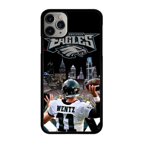 CARSON WENTZ EAGLES 1 iPhone 11 Pro Max Case Cover